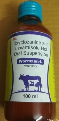 Oxyclozanide & Levamisole Hcl Oral Suspension