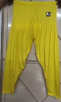 2 Way Lycra Viscose Rangoli Patiala Pant - 3XL