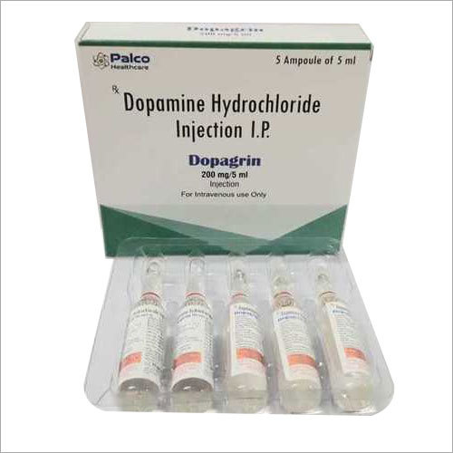 Dopamine Inj 200mg/5ml