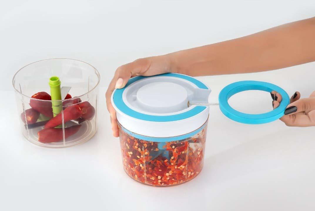 Vegetable Fruit Onion Nut Multi Functional Chopper | Hand mit Grinder Mixer Processor for Multi Use | Salad Maker Vegetable Tools