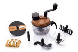 7 in 1 Manual Food Processor (Wooden)