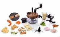7 in 1 Manual Food Processor (Wooden)