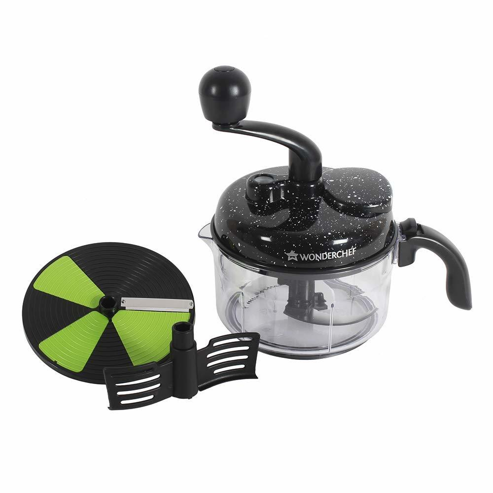 7 in 1 Manual Food Processor (Black)