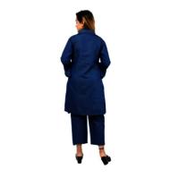Denim Jumpsuits With Shrug For Ladies