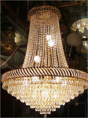 Golden Chandeliers
