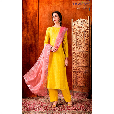 MTR 4334 Ladies Ethnic Pant Suit