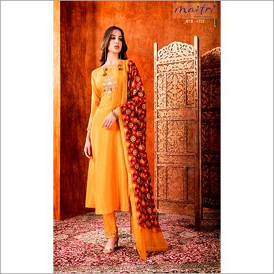 MTR 4332 Ladies Phulkari Dupatta Pant Suit