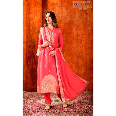 MTR 4338 Ladies Embroidered Salwar Suit