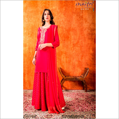 MTR 4335 Ladies Fancy Sharara Suit