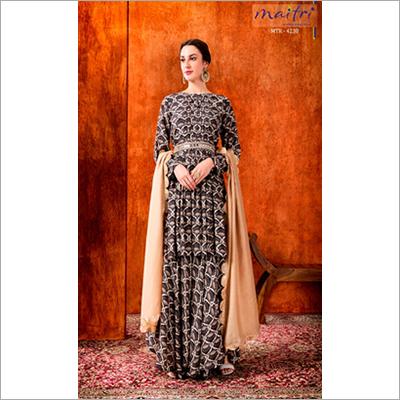 MTR 4230 Ladies Printed Sharara Suit