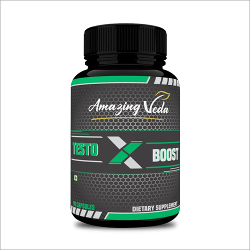 Testoboost Dietary Supplement Capsules