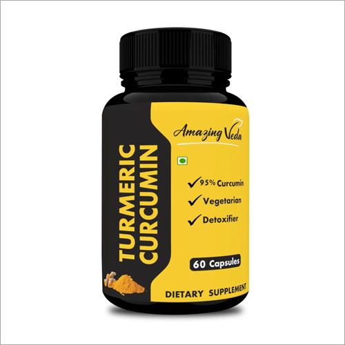 Turmeric Curcumin Dietary Supplement Capsules