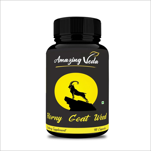 Horny Goat Weed Dietary Supplement Capsules
