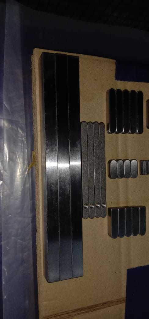 Industrial Parallel Keys, Customised Parallel Keys, Industrial Woodruff Keys