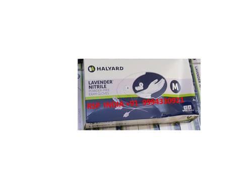 Halyard Lavender Nitrile Gloves