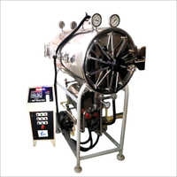 Cylindrical Autoclave On Stand