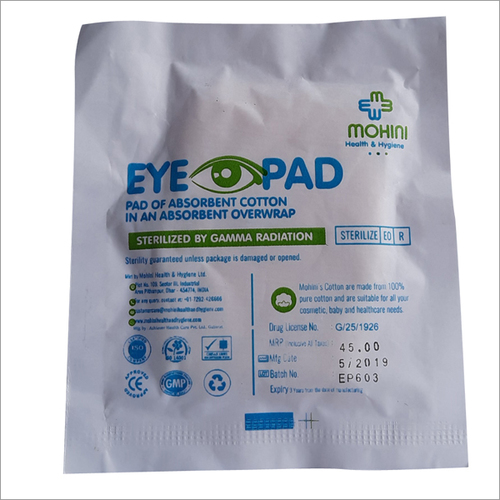 Absorbent Cotton Eye Pad