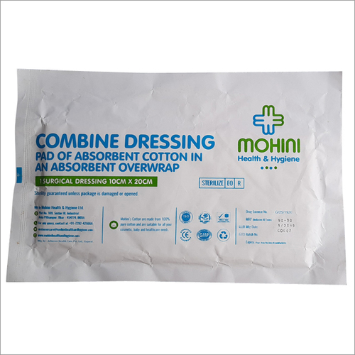 Absorbent Cotton Overwrap
