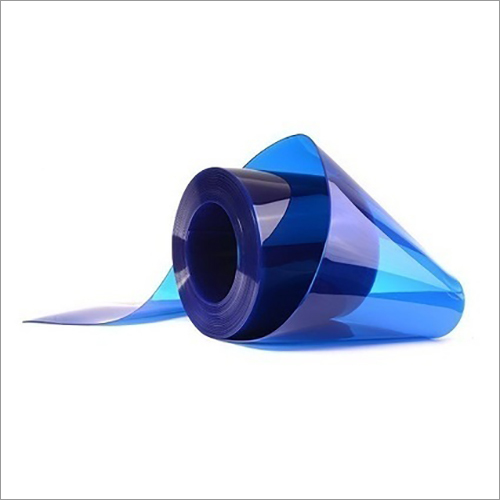 Blue PVC Strip Curtain Roll