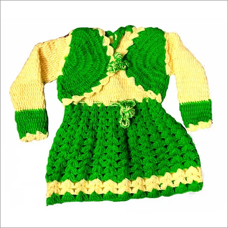 Cute Hand Knitted Frock
