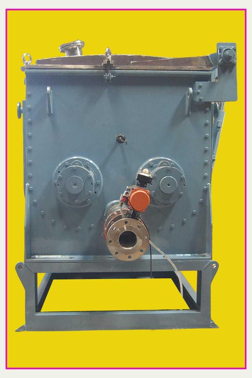 Sigma Mixer with Extruder Screw