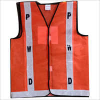 Fluorescent Reflective Safety Jacket