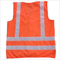 Industrial Fluorescent Sleeveless Jacket