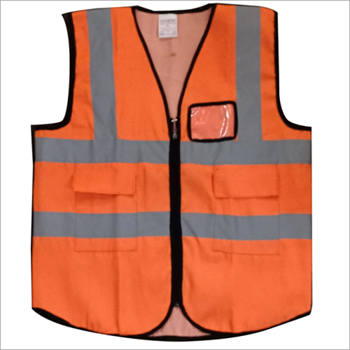 Polyester Safety Jacket For Construction Site