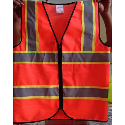 Polyester Sleeveless Safety Jacket