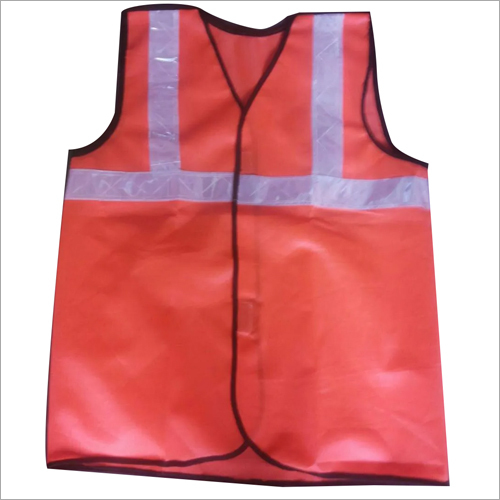 Polyester PVC White Reflective Tape Safety Jacket