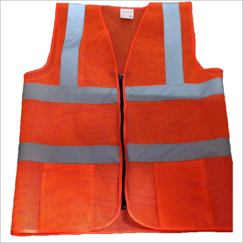 Sleeveless Polyester Safety Jacket