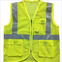 Printed Cloth Polyester Safety Jacket