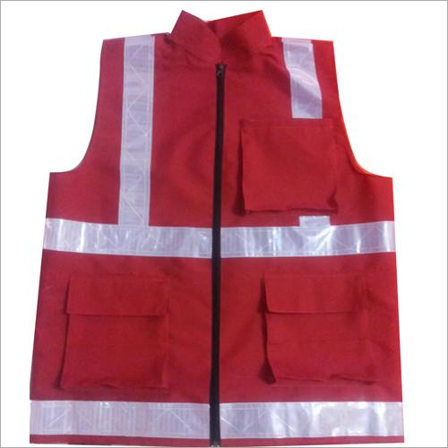 Polyester Four Pocket Safety Jacket