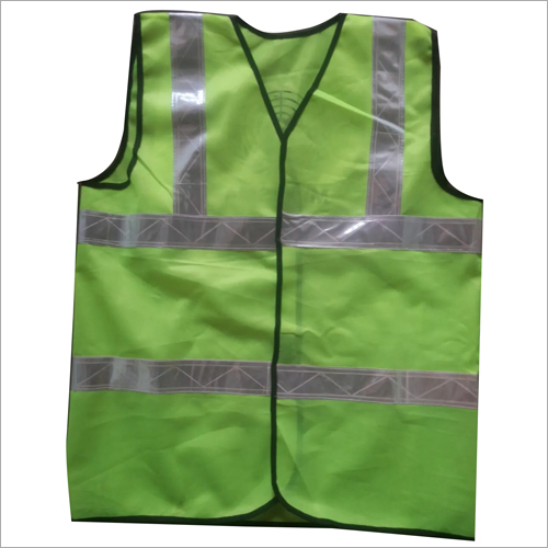 Cloth Polyester and PVC Safety Jacket