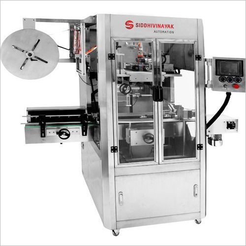 Fully Automatic Sleeve Inserting and Shrinking Applicator Machine