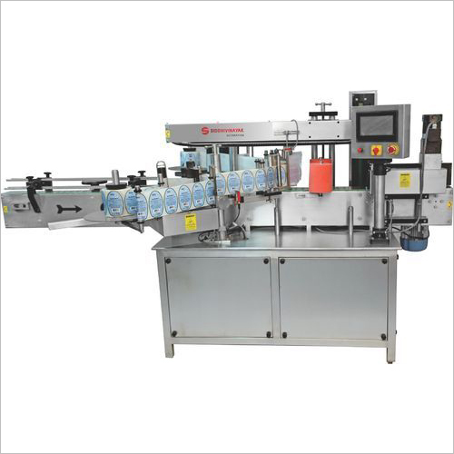 Automatic Flat-Squer Bottle Labeling Machine