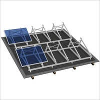 Solar Rooftop Mounting Structure
