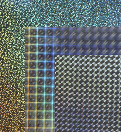 Hologram Paper Board