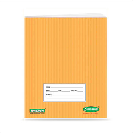 76 Pages King Note Book (One Line)