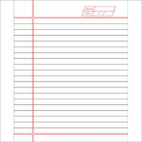 172 Pages King Note Book (One Line)