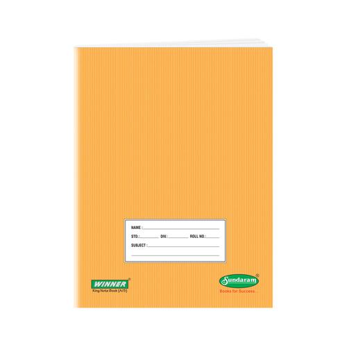Sundaram Winner King Sketch Book (R & B Gap) - 172 Pages.(E-15K)