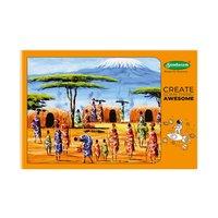 Sundaram Drawing Book - A3 (Orange) - 36 Pages  (D-7)