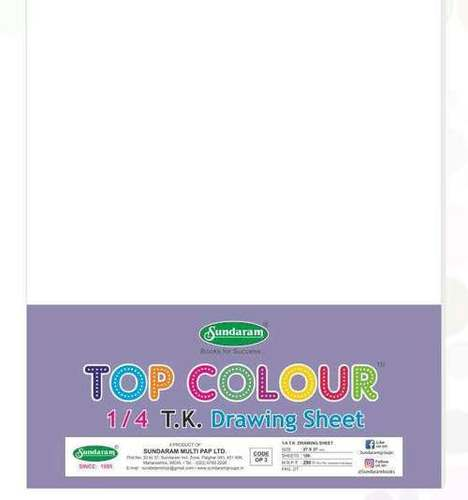 100 Sheets Drawing Sheet 14 T K