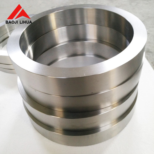 High purity gr1 titanium rings forged for industry made in China