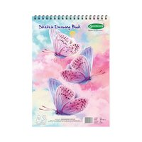 Sundaram Sketch Drawing Book - A3 - 36 Pages (D-8)