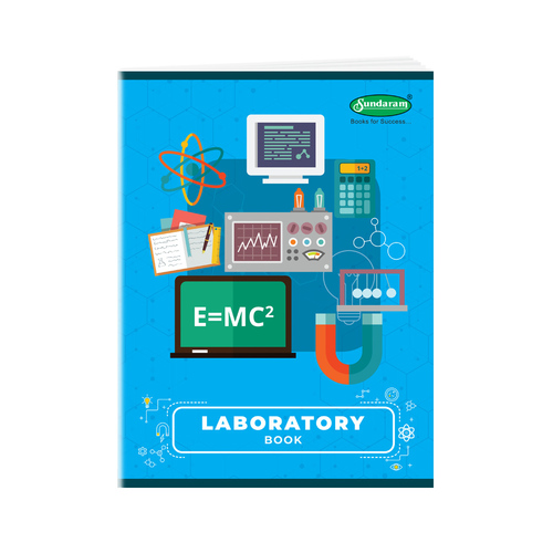 170 Pages Laboratory Book Big