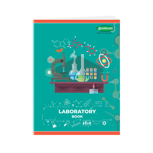 Sundaram Laboratory Book - Big (Two Sided Rulled) - 74 Pages (P-3T)