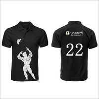 Mens Printed Polo T-Shirts