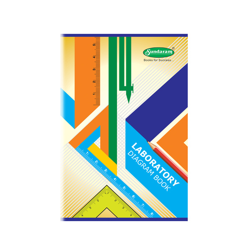 140 Pages Laboratory Diagram Book