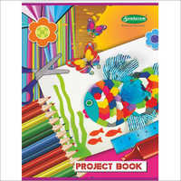 32 Pages Project Book (Rulled)